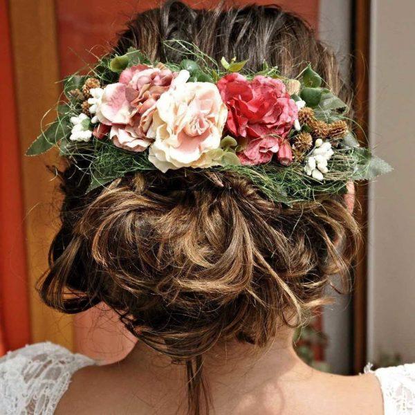 yaka çiçeği ve gelin saç çiçeği