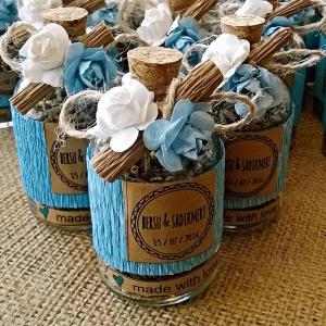 mavi lavanta şişesi