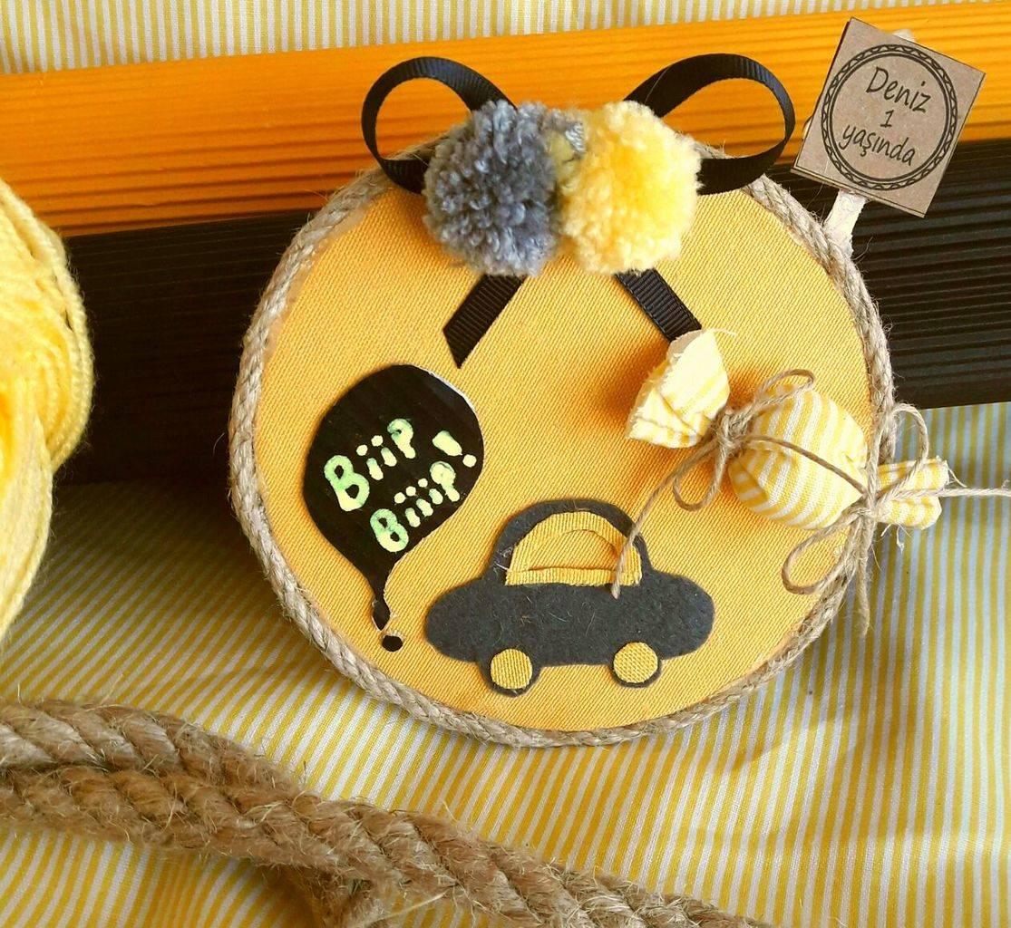 arabalı bebek magneti